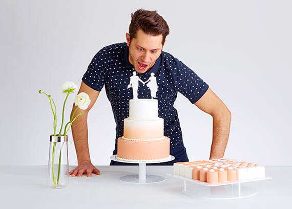 20 to 22<sup>nd</sup> January 2016 <br><strong>LANDTMANN COLLECTION | WEDDING CAKES</strong><br>Messe Trau Dich (Trau Dich trade fair) | Vienna (AT)<br>